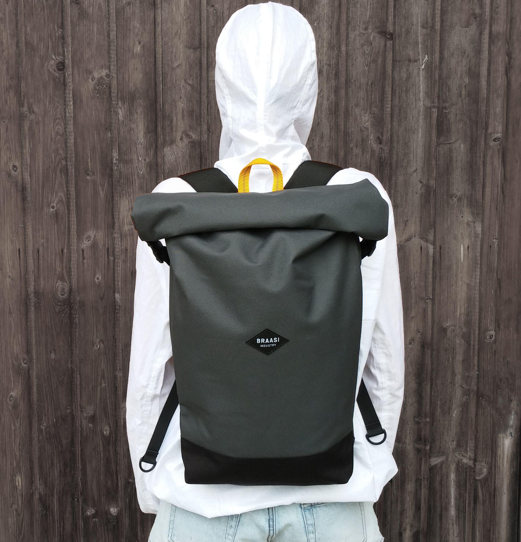 rolltop braasi industry bags we love pinterest backpacks