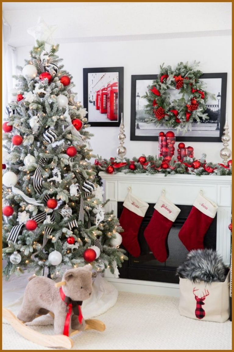 Christmas Tree Decorations 49956 Christmas Styling Secret Canadian Tire Canvas Collect In 2020 Traditional Christmas Decorations Modern Christmas Decor Holiday Decor