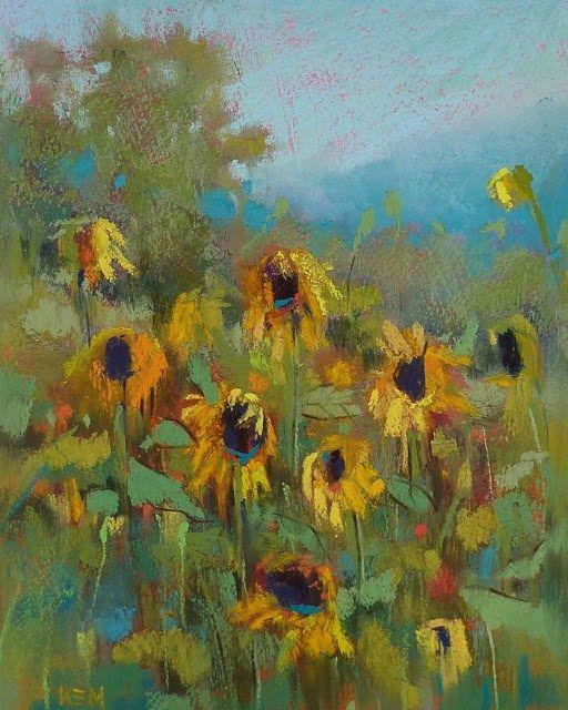 """Here Comes the Sun"" original fine art by Karen Margulis"