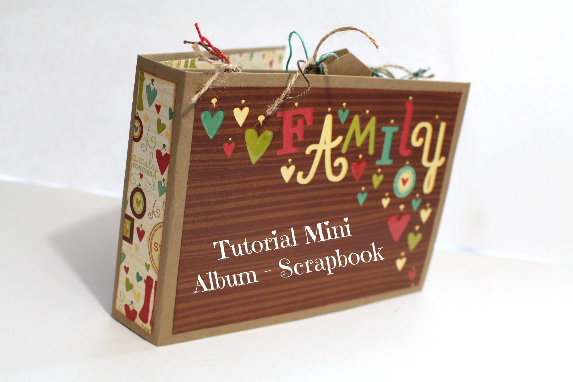 Diy mini album scrapbook for boyfriend 2014 youtube - Mini Album Tutorial