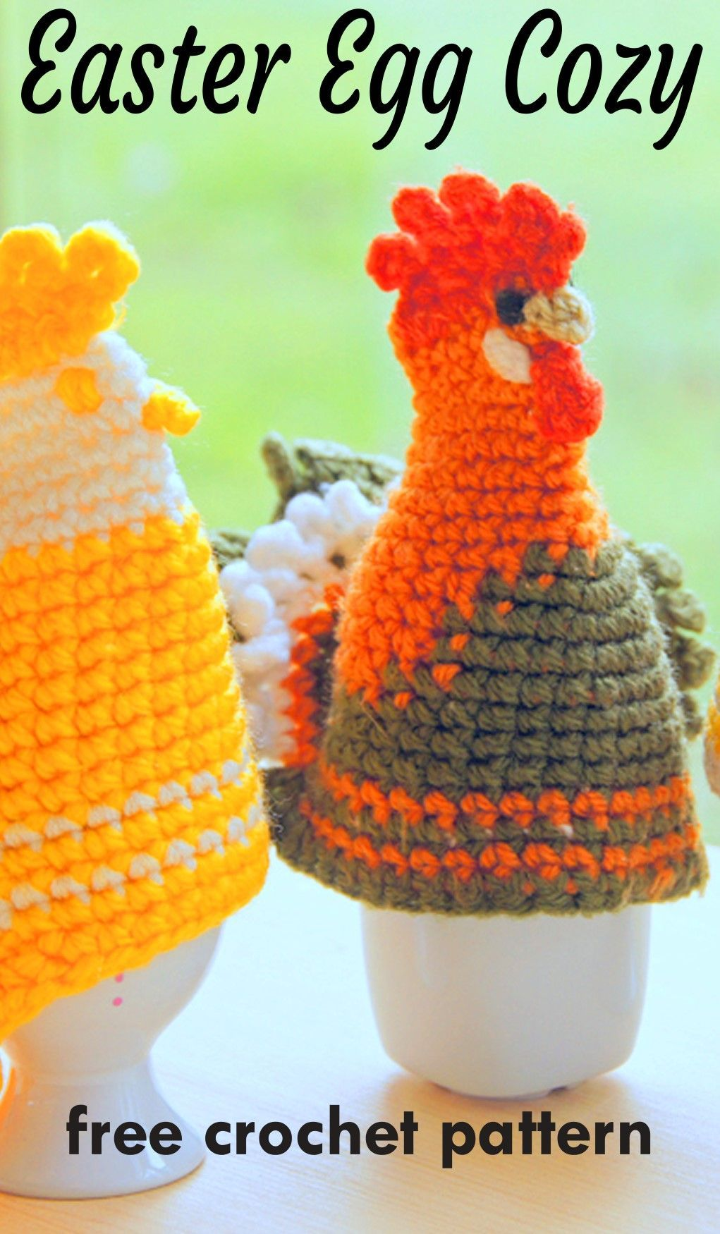 Easter Egg Cozies Free Crochet Patterns Crochet Crochet
