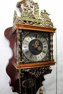 Old Wall Clock Dutch Zaandam Zaanse Wall Clock Orologio