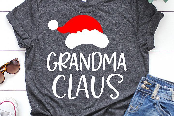 Download Grandma Claus SVG, DXF, PNG, EPS (With images) | Svg, Dxf, Eps