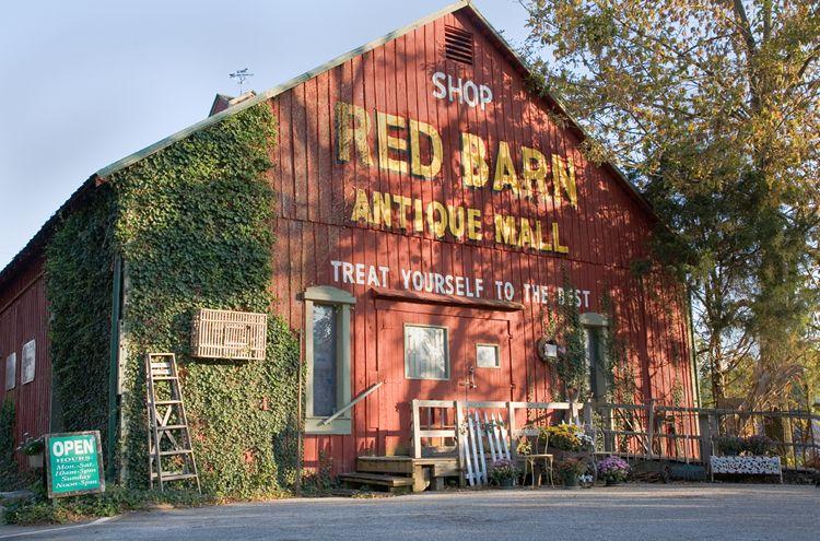 Red Barn Antique Mall Corydon In Boasts Three Floors Of Quality
