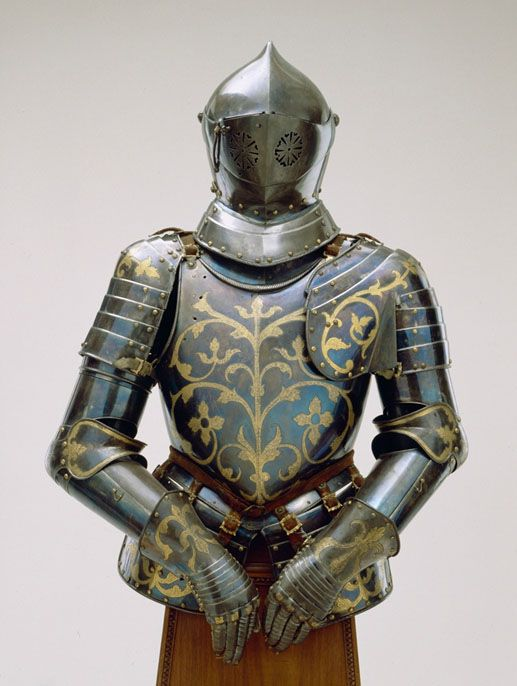 A Day For Detroit The Hearst Armor Collection Los Angeles County Museum On Fire Artinfo Com Via Pincg Com Medieval Armor Ancient Armor Historical Armor