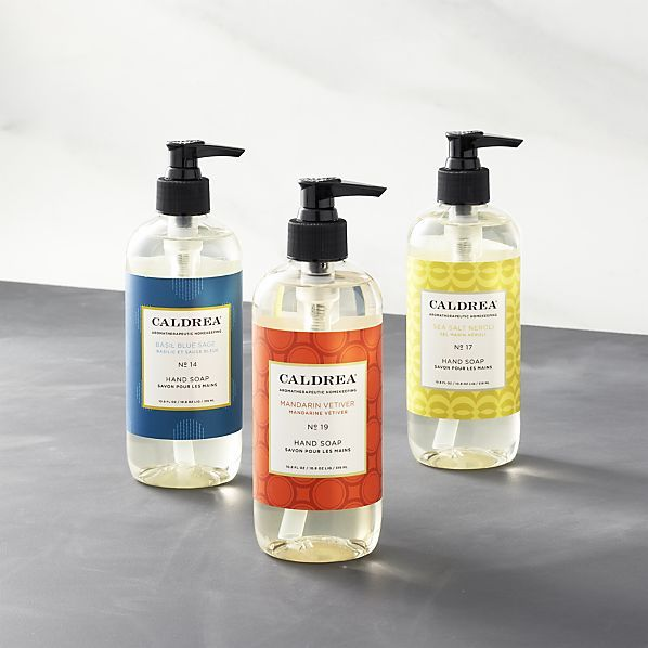 Caldrea Hand Soaps In Cleaning Crate And Barrel Crate And Barrel