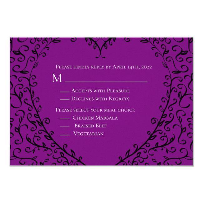 create your own invitation  zazzle  wedding reply