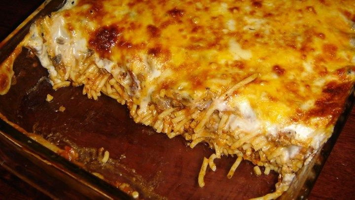 A Comforting Baked Noodle Dish Is Your Reward When You Combine Ground Beef Chicken Or Turkey