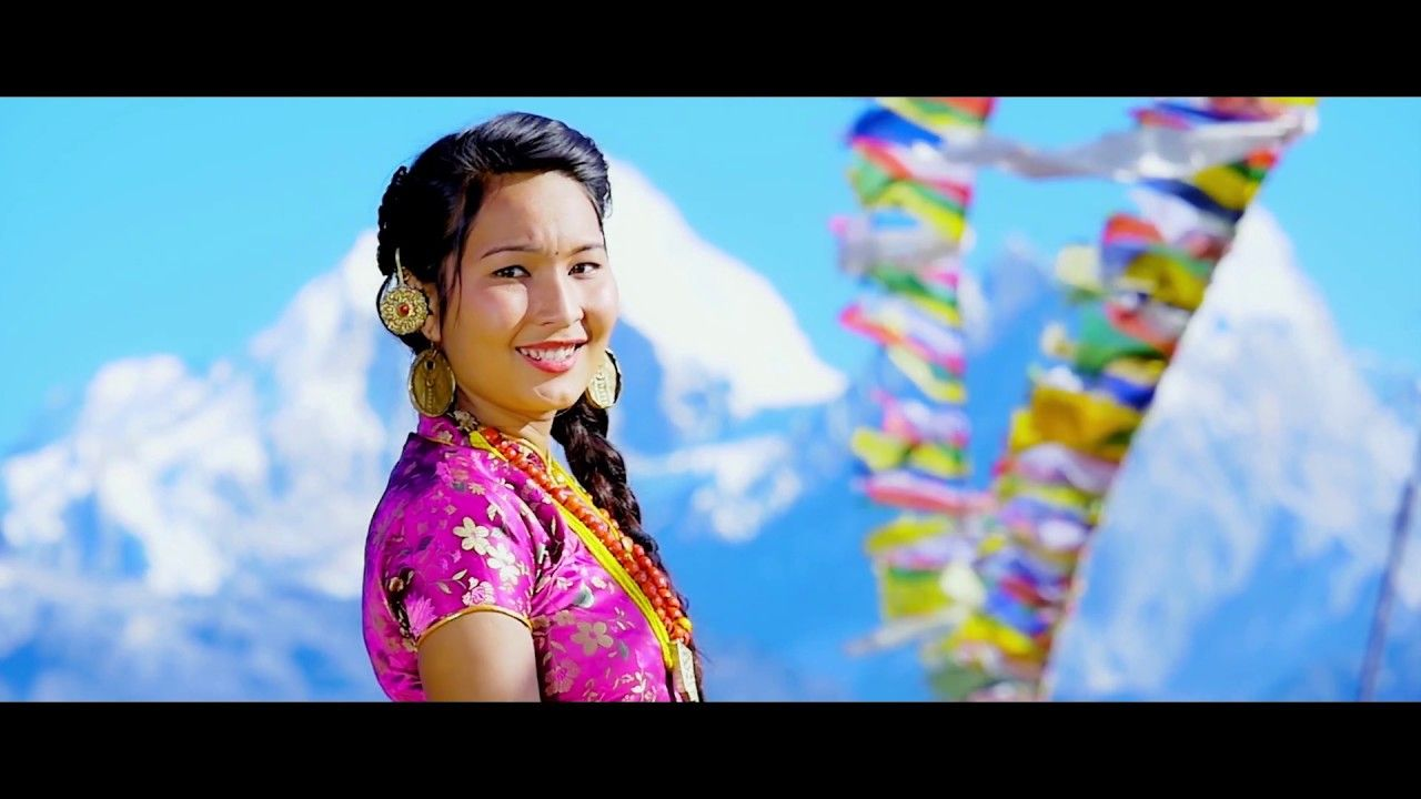 Aapleng La Namsha Movie Song Badri Thing Sanju Shrestha