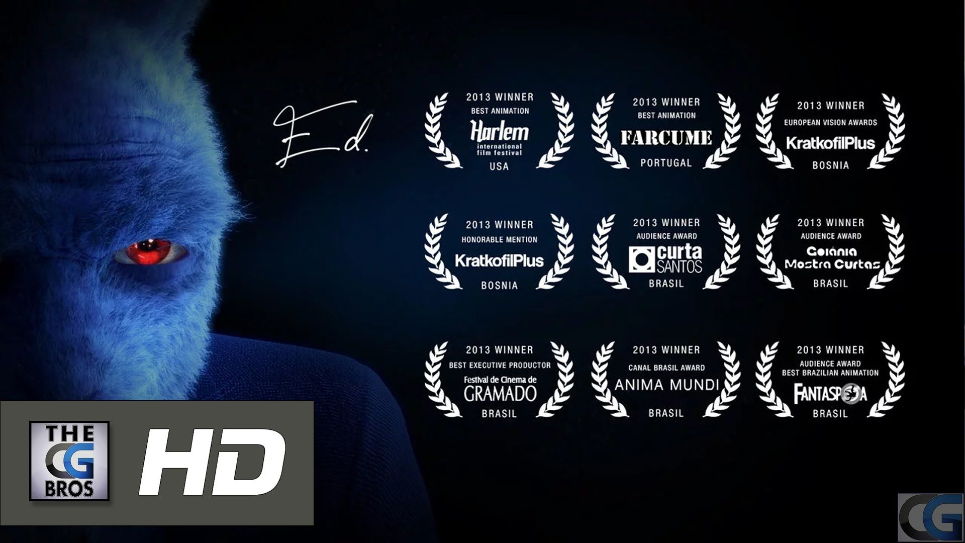 "CGI 3D **AWARD WINNING** Animated Short: ""Ed""  - by  hype.cg 