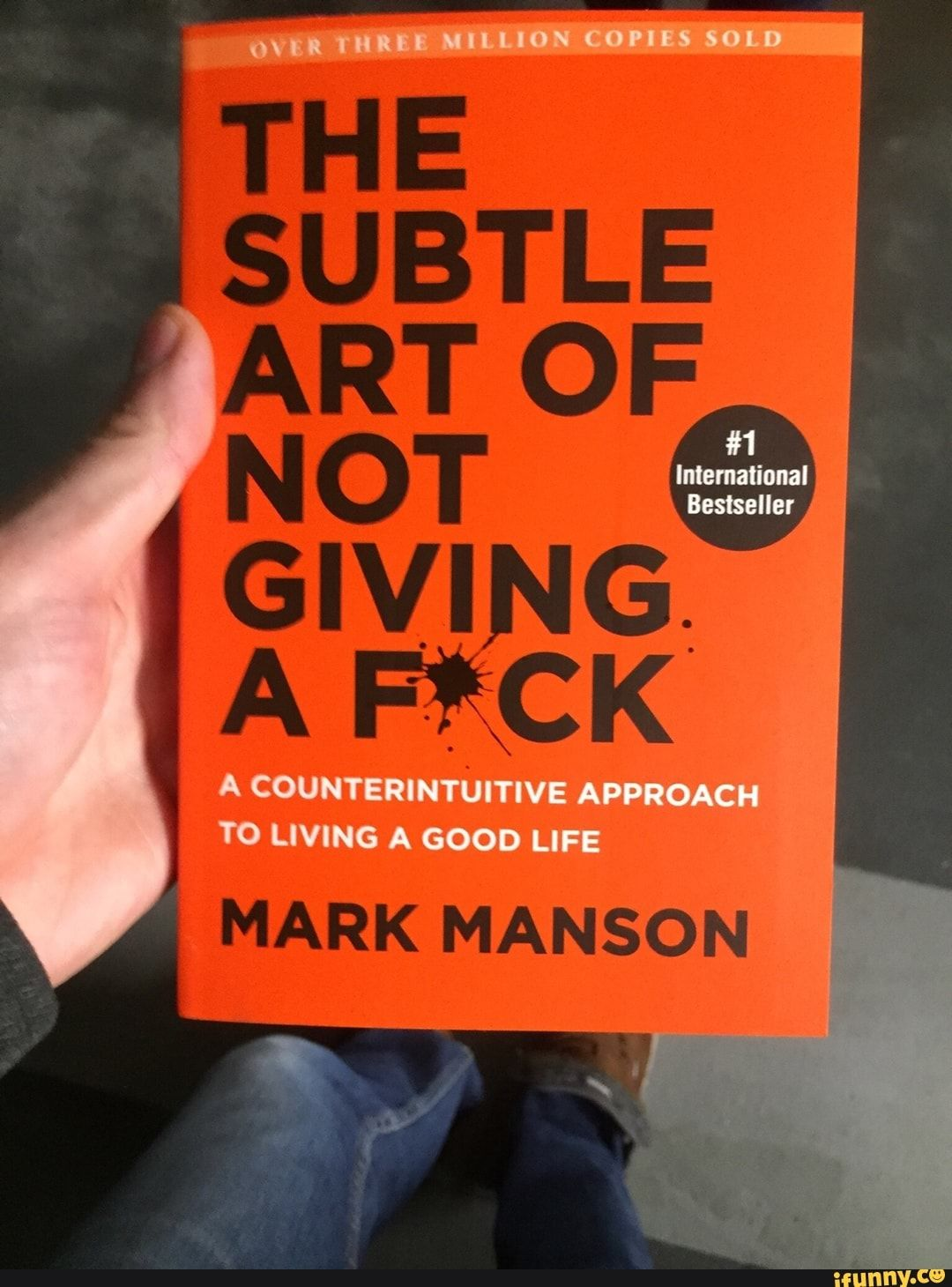 The Subtle Art of Not Giving a F*ck Mark Manson's New