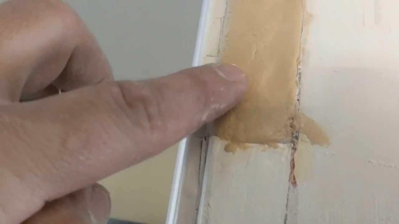 Como Reparar Huecos En Madera Tecnicas Pinterest Hueco  ~ Reparar Puertas Lacadas En Blanco