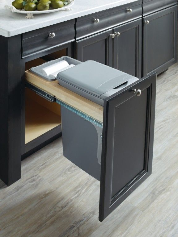 Thomasville Cabinetry S Base Wastebasket With Lid Will