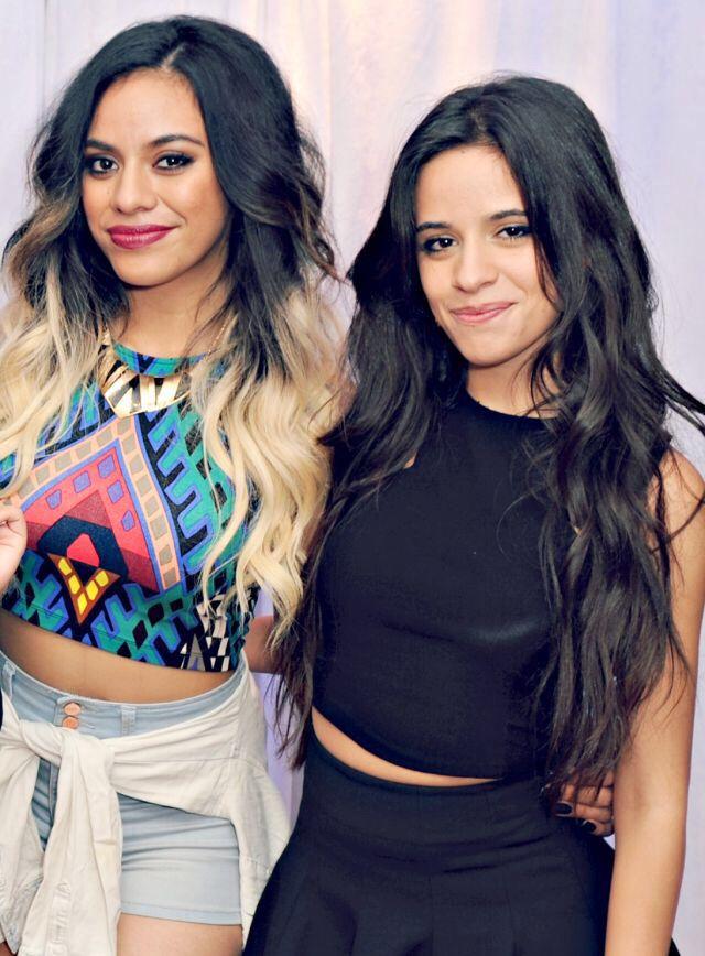 Dinah Jane Hansen. Camila Cabello. Fifth Harmony.