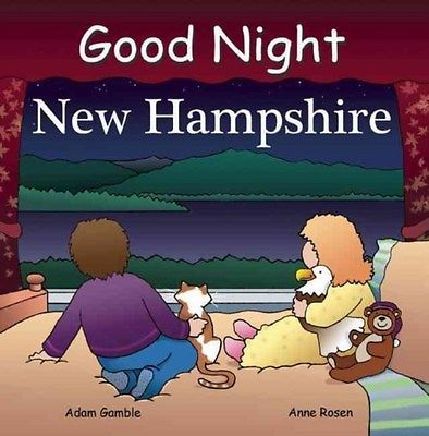 Good Night New Hampshire 9781602190375 by Adam Gamble, Board Book, BRAND NEW
