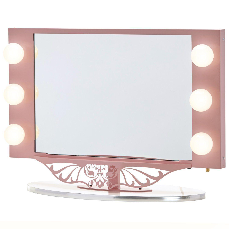 Amazoncom Vanity Girl Hollywood Starlet Lighted Vanity Mirror