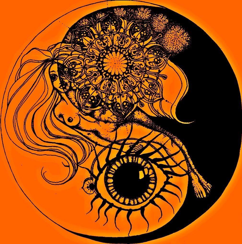 Yin-Yang Mandala by Susan Frahn (1969)