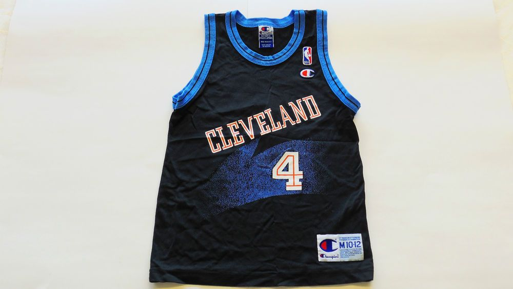 the latest 8f5f6 f1506 NBA VINTAGE Cleveland Cavaliers Shawn Kemp #4 Jersey by ...