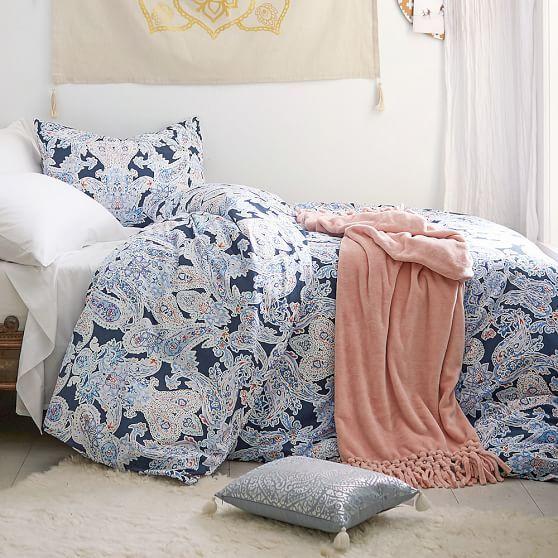 Room Ideas Luna Paisley Duvet Cover Sham Pb