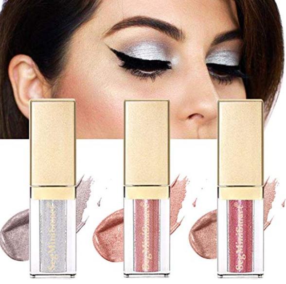Glitter Liquid Eyeshadow, Glitter Eyeliner, Makeup -