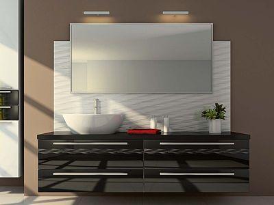 Kromě toho, že zrcadlo je nezbytným doplňkem každé koupelny, umí opticky zvětšit i sebemenší prostor.