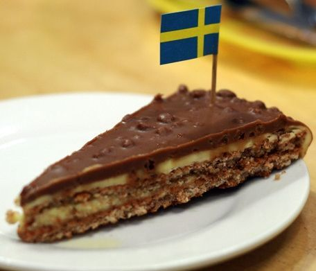 Swedish Almond Cake With Daim Recipe