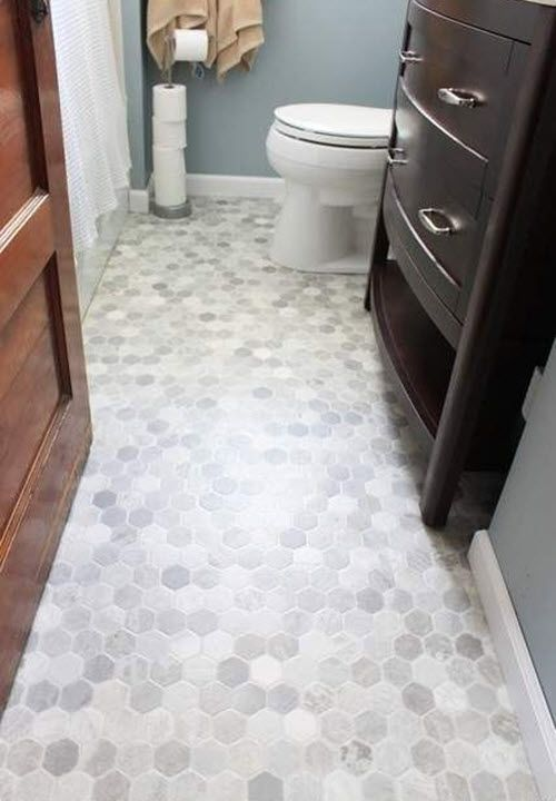 38 Gray Bathroom Floor Tile Ideas And Pictures Gray Tile