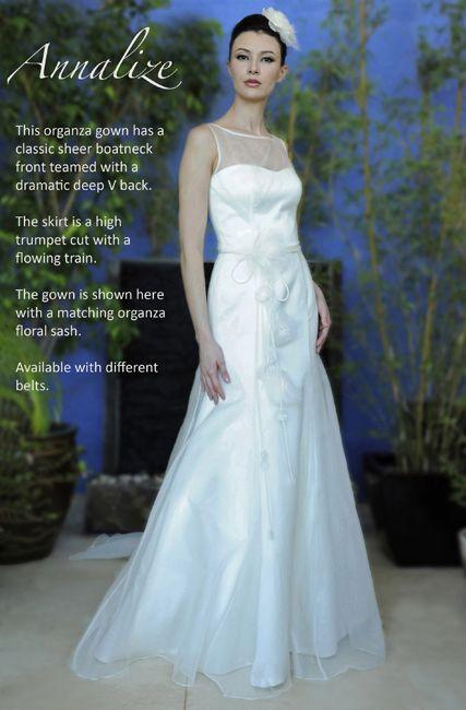 Augusta Jones - Annalize. Love the top of the dress | Wedding ...