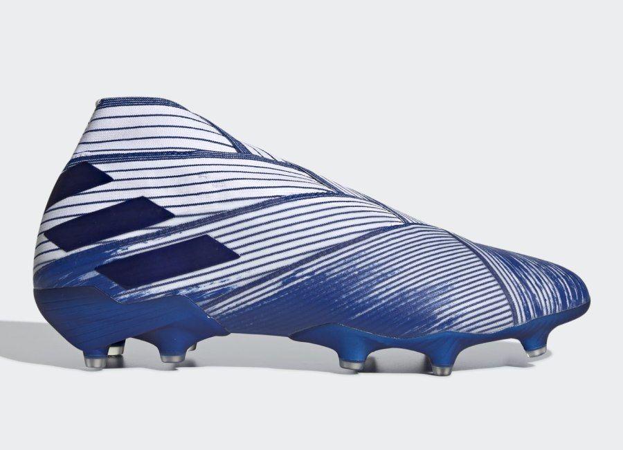 Adidas nemeziz 19 fg mutator cloud white team royal