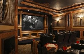 Sorenson Construction - In home Theater