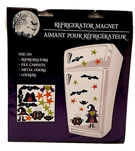Refrigerator Magnet Happy Halloween Window Clings Stickers Toddlers Kids Jack O Lantern Scary Spooky Creepy Turkey Harvest Halloween Party Indoor Outdoor Decor Haunted House Pumpkin