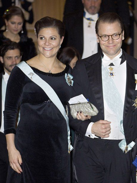 20. Dezember 2015 Prinzessin Victoria und ihr Mann...