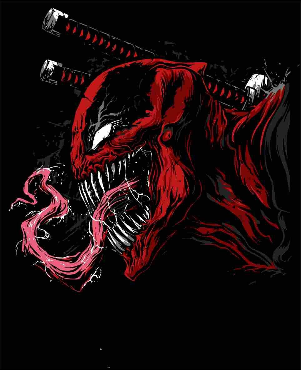 Venompool Vector Pdf Marvel Artwork Marvel Wallpaper Spiderman Art