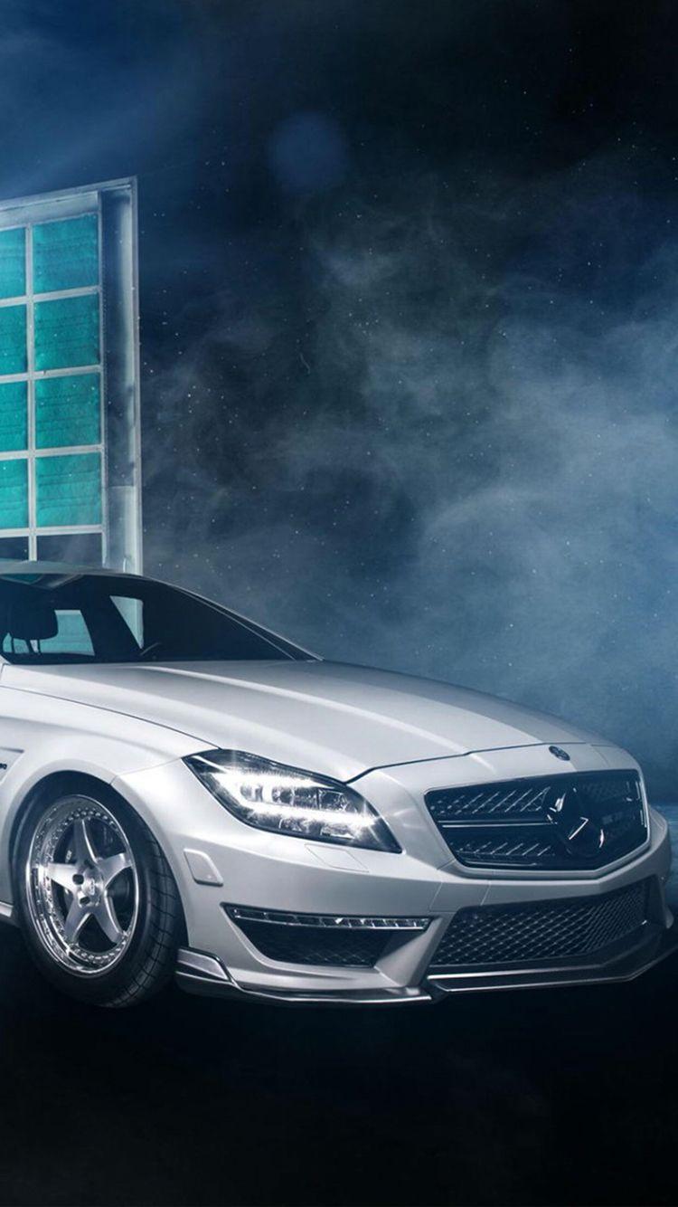 White Mercedes Car Wallpaper Wallpaper White Mercedes Iphone