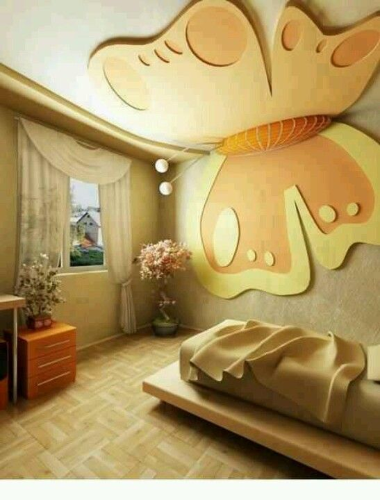 Kids Room False Ceiling Design: Ceiling Design Bedroom, Modern Kids Room