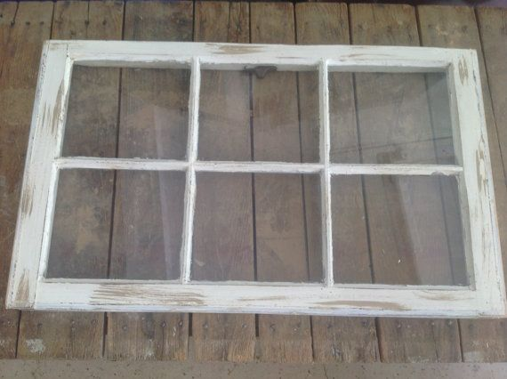 thank you for shopping vintage house creation this window has been painted cream and tan and then distressed measuring 32 x this - Distressed Window Frame