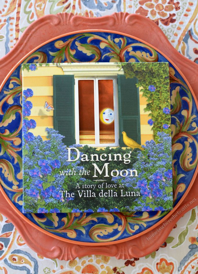 Dancing with The Moon and Pfaltzgraff Villa della Luna Dinnerware | homeiswheretheboatis.net #tablescape #alfresco & A Lakeside Table with Pfaltzgraff Villa della Luna Dinnerware ...
