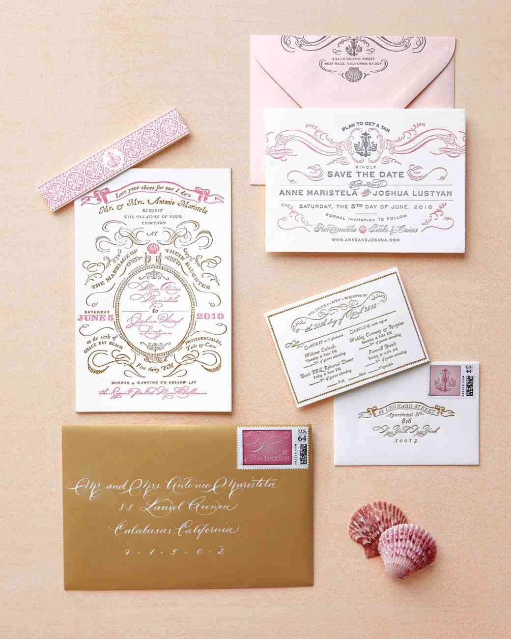 The Freshest Spring Wedding Invitations | Martha Stewart Weddings ...