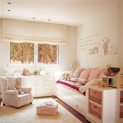 Decoracion ventanas infantiles buscar con google colchas edredones y cortinas little girl Decoracion paredes habitacion nina