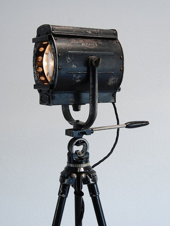 Unique Beauty 30 S Vintage Theater Movie Stage Light