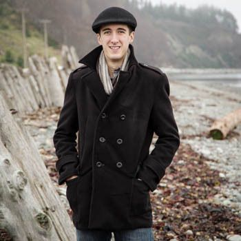 The Goldstream Peacoat Pattern by Thread Theory