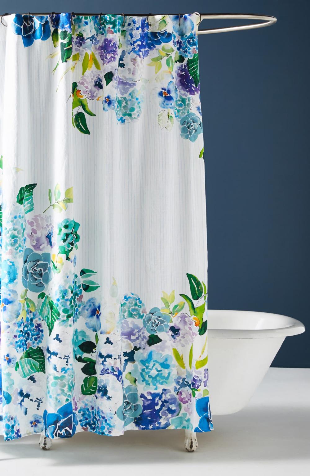 Anthropologie Sarah Hackinson Shower Curtain Nordstrom Unique Shower Curtain Shower Curtain Floral Shower Curtains