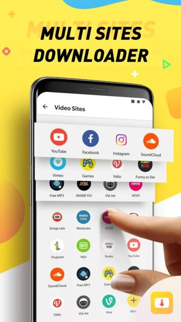 Snaptube screenshot 11 Descargar video, Descargar musica