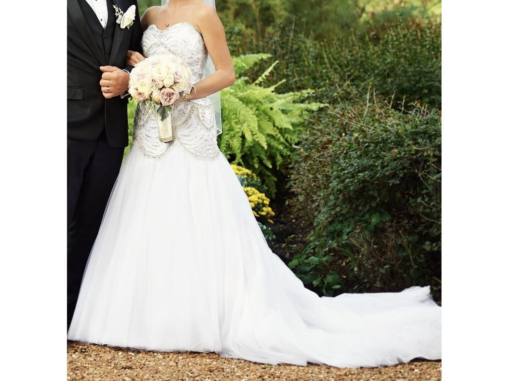 Previously owned wedding dresses  Used Moonlight H Wedding Dress  USD Buy it PreOwned now