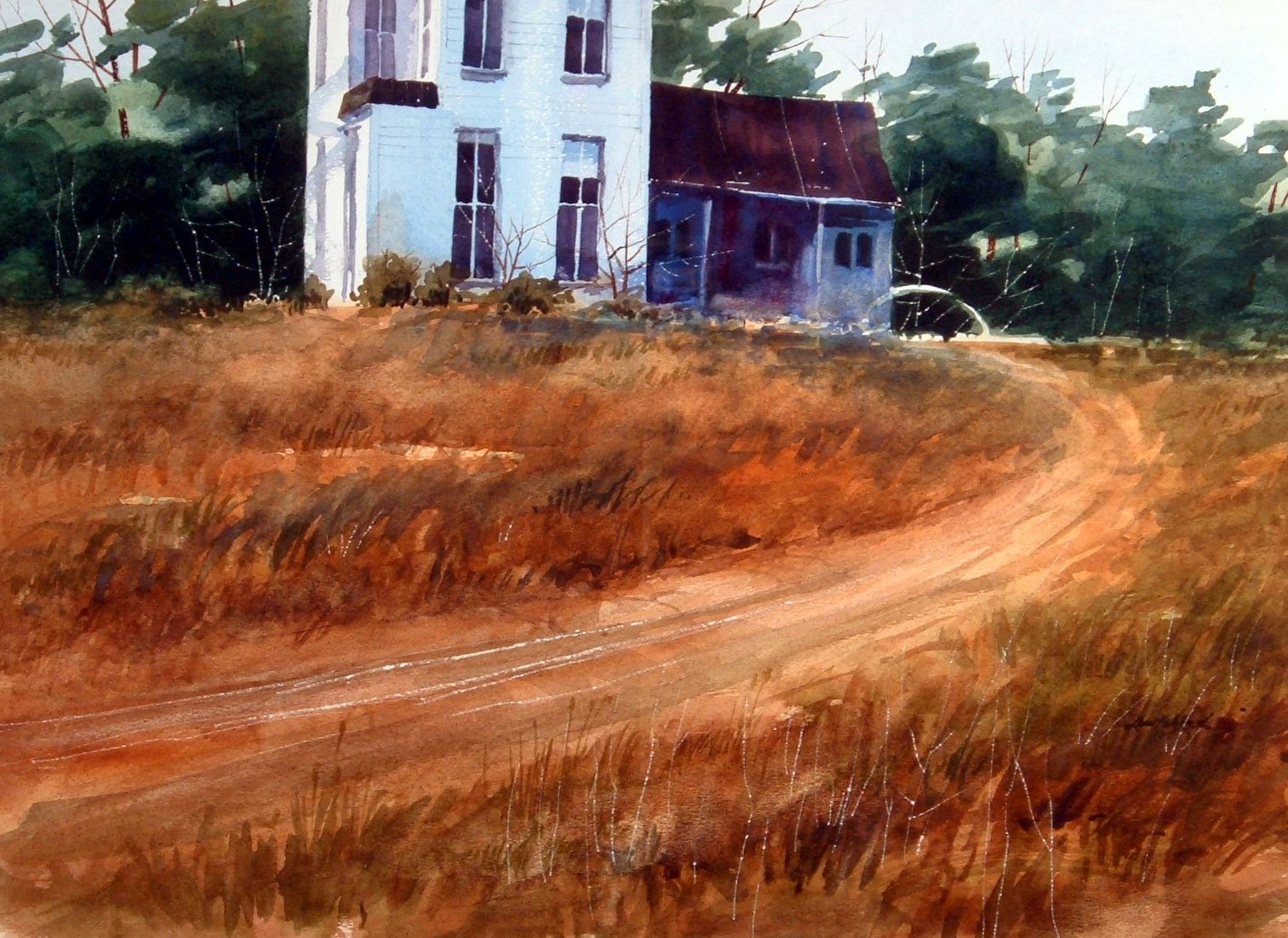 Lew Hubbard Watercolor | Foundation | Art, Painting, Watercolor