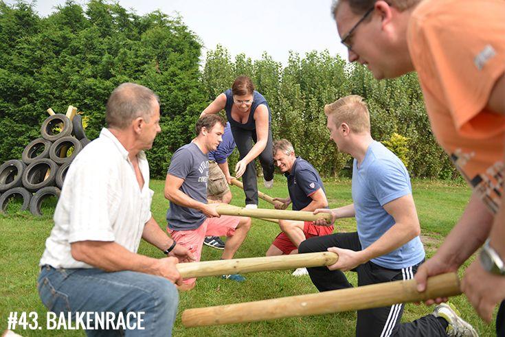 Uitgelezene Balkenrace (met afbeeldingen) | Teambuilding activiteiten GC-39