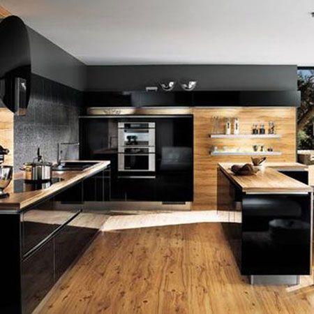 Observe Algumas Imagens De Ideias Para Decoração De Cozinha E Faça - Modele Cuisine Avec Ilot