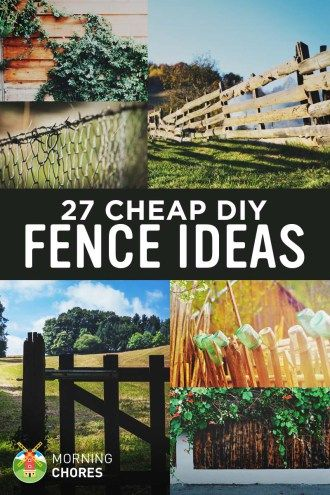 27 Diy Cheap Fence Ideas For Your Garden Privacy Or