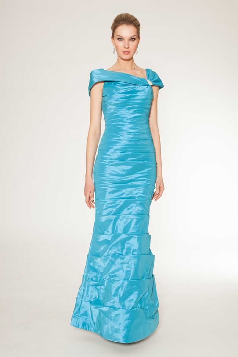 Long tailored dress with shawl collar 63996 - Catherines of Partick ...