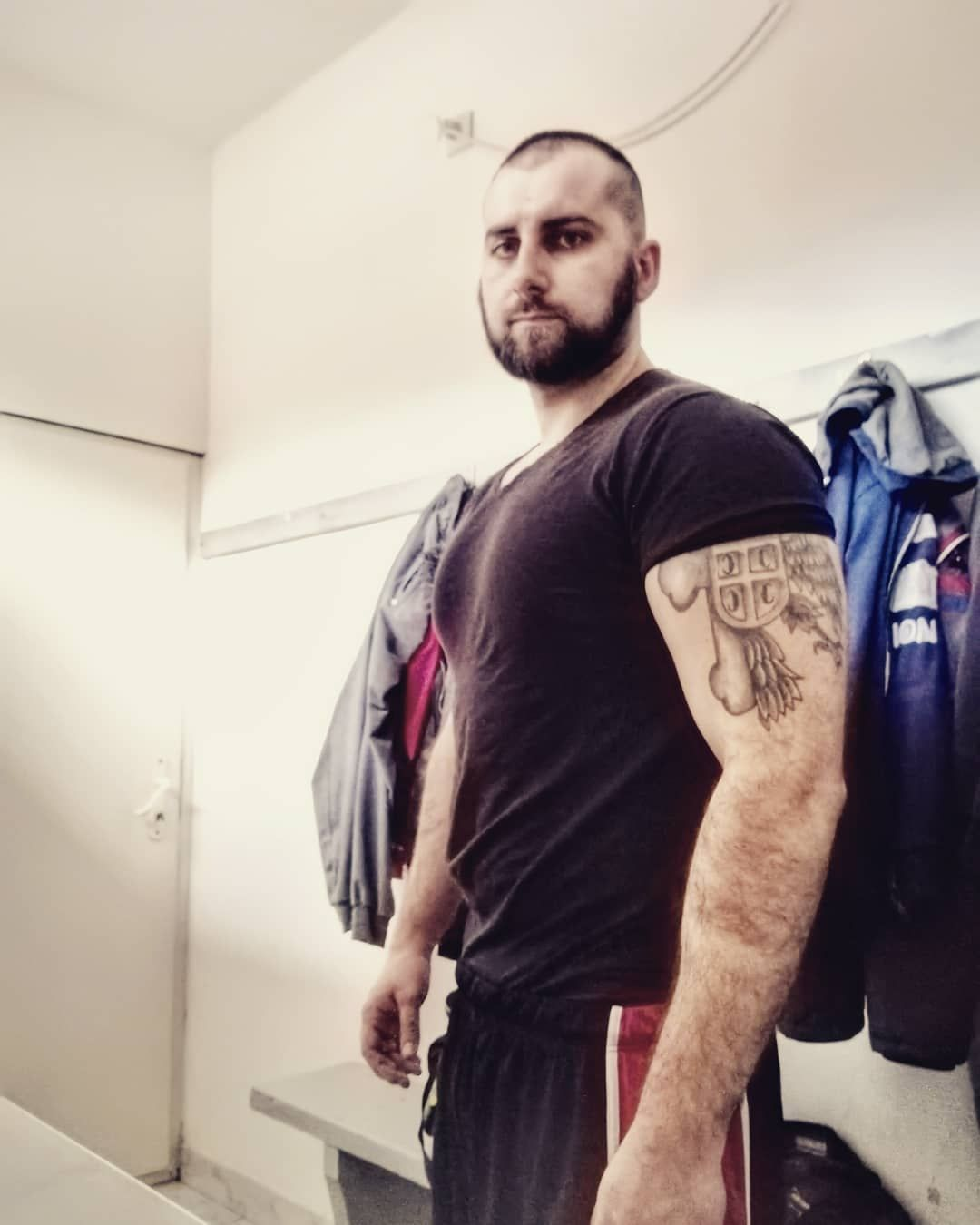 #gym #gymlife #gymtime #gymworkouts #training #chest #biceps #strong #muscle #natural #protein #tattoo #tattooink #beard #beast #instalike #instalove #moscow #athens #madrid #rome #berlin #poznan #stockholm #oslo #newyork #dubai #dublin #warsaw